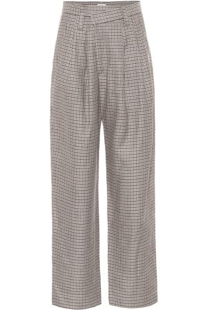 Brunello Cucinelli Karierte Hose aus Tweed