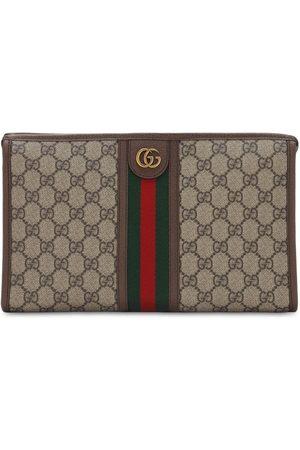 Gucci Kosmetiktasche Aus Gg Supreme-canvas Und Gewebe