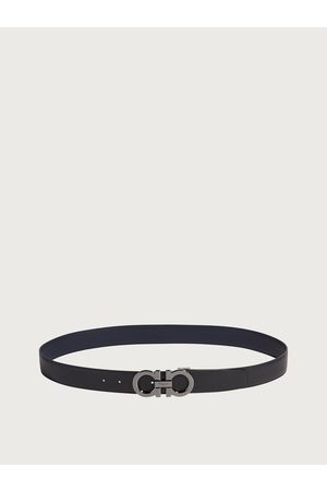 Salvatore Ferragamo Herren Reversible and adjustable Gancini belt
