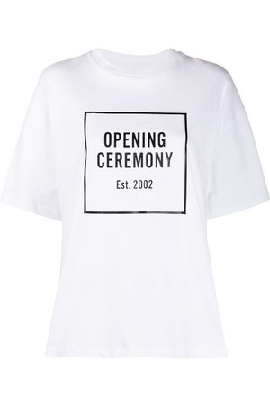 Opening Ceremony Weites T-Shirt mit Logo