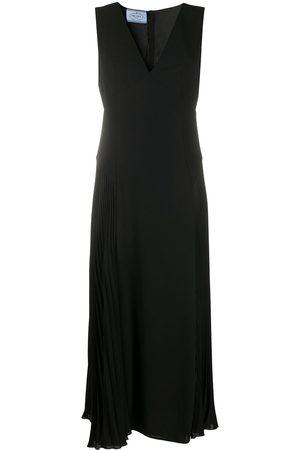 Prada Midi v-neck dress