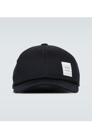 Thom Browne Hüte - Baseballcap aus Baumwolltwill