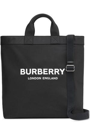 Burberry Shopper mit Logo