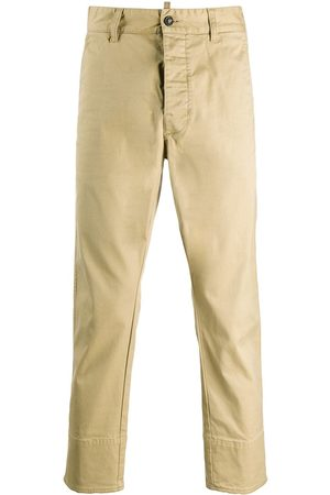 Dsquared2 Schmale Cropped-Chino - Nude