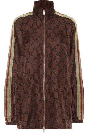 Gucci Jacke aus Seiden-Twill