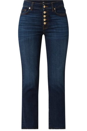 7 for all Mankind Cropped Jeans mit Logo-Detail