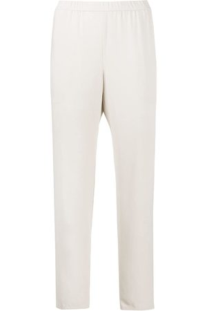 Eileen Fisher System' Cropped-Hose - Nude