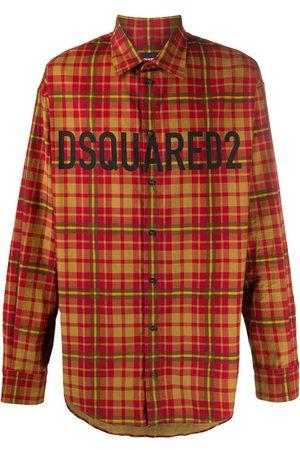 Dsquared2 Kariertes Hemd mit Logo