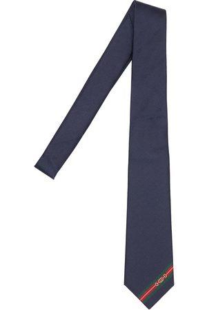 Gucci 7cm Breite Krawatte Aus Seide