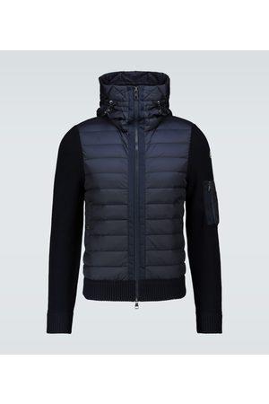 Moncler Jacken - Jacke Tricot aus einem Wollgemisch