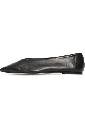 Aeyde 10mm Betty Leather Ballerinas