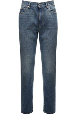 Gucci 20cm Jeans Aus Baumwolldenim Mit Logo