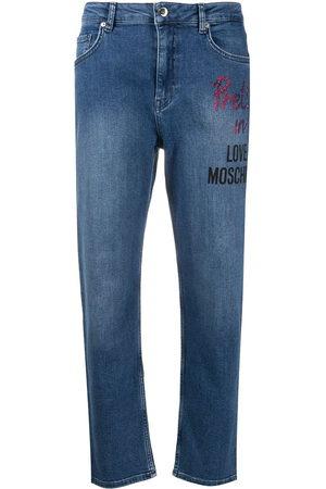 Love Moschino Jeans mit geradem Bein
