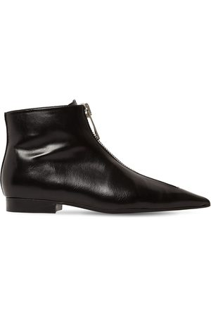 Stella McCartney 20mm Zipit Faux Leather Ankle Boots