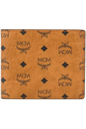 MCM Portemonnaie mit Logo-Print