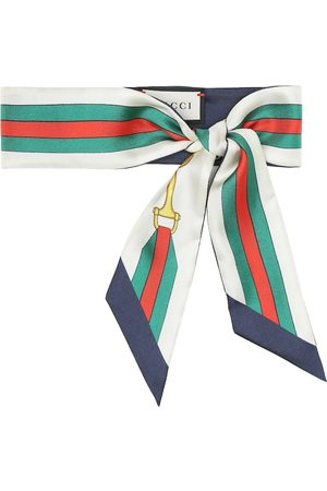 Gucci Bedrucktes Tuch aus Seiden-Twill