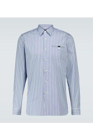 Prada Gestreiftes Hemd aus Baumwolle