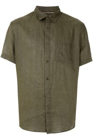 OSKLEN Klassisches Leinenhemd