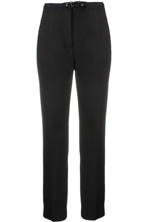 Prada Slim-fit buckled trousers
