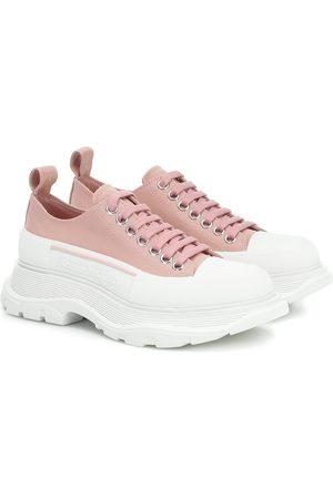 Alexander McQueen Plateau-Sneakers Tread Sleek