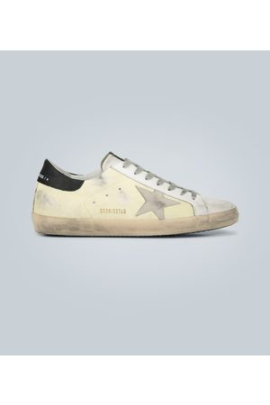 Golden Goose Sneakers Superstar mit Leder