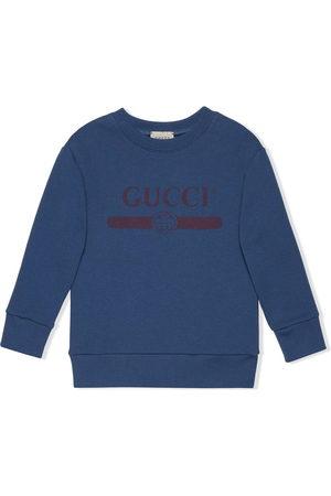 Gucci Sweatshirt mit Logo-Print