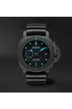 PANERAI Herren Uhren - Submersible Automatic 42mm Carbotech and Rubber Watch, Ref. No. PAM00960