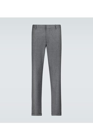 CARUSO Regular-Fit-Hose aus Wolle