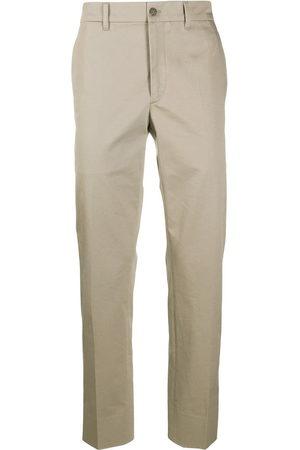 Prada Straight-leg cotton trousers - Nude