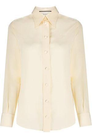 Gucci Hemd mit Kragendetail - Nude