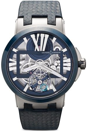 Ulysse Nardin Skeleton X' Chronograph, 43mm - BLUE