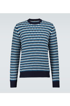 Prada Jacquard-Pullover aus Wolle