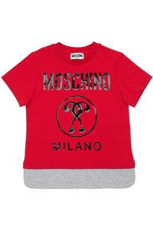 Moschino T-shirt Aus Baumwolljersey Mit Logodruck