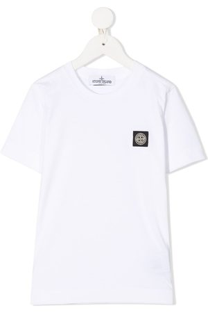 Stone Island Logo patch crew neck T-Shirt