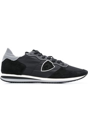 Philippe model Low top contrast panel sneakers