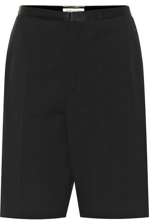 Saint Laurent Shorts aus Schurwolle