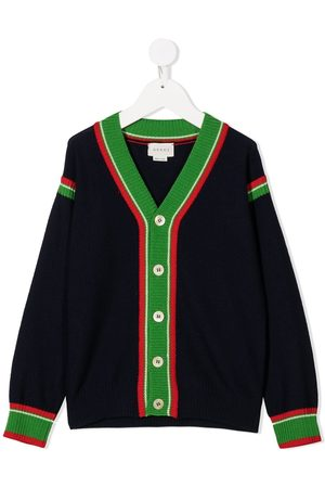 Gucci Button-up wool cardigan
