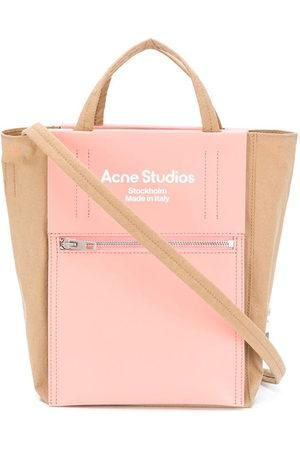 Acne Studios Shopper mit Logo-Print