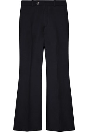 Gucci Cropped-Hose mit weitem Bein