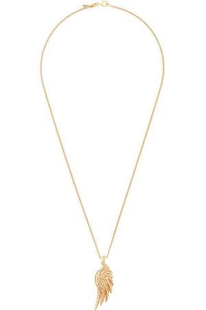 EMANUELE BICOCCHI 24kt vergoldete Halskette mit Flügelanhänger