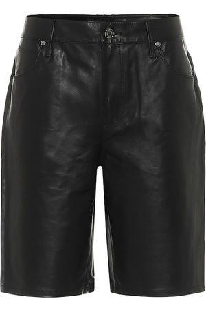 RTA Shorts Jami aus Leder
