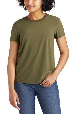 Eddie Bauer Damen T-Shirts - Departure Lite Mix T-Shirt Damen Gr. XS