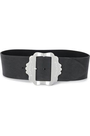Isabel Marant Engraved buckle belt