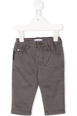Emporio Armani Mid-rise slim jeans