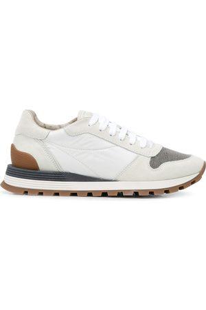 Brunello Cucinelli Sneakers in Colour-Block-Optik