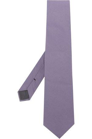 Gianfranco Ferré 1990s Spitz zulaufende Krawatte - Lila