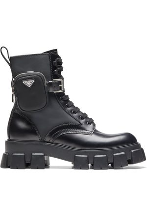 Prada Ankle pouch combat boots