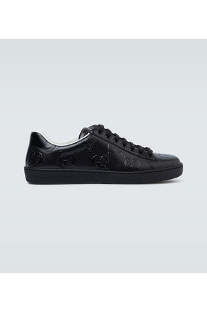 Gucci Geprägte Sneakers Ace GG