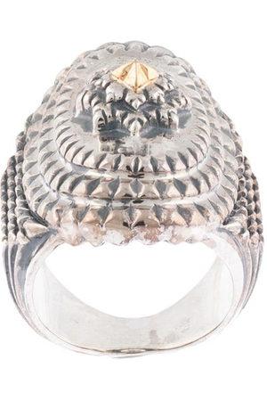 Natural Instinct Herren Ringe - Breiter Ring mit Gravur