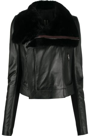 Rick Owens Leather biker jacket